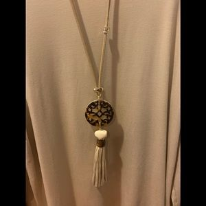 """Chico's Reversible Necklace - 23"""" long w/extender."""